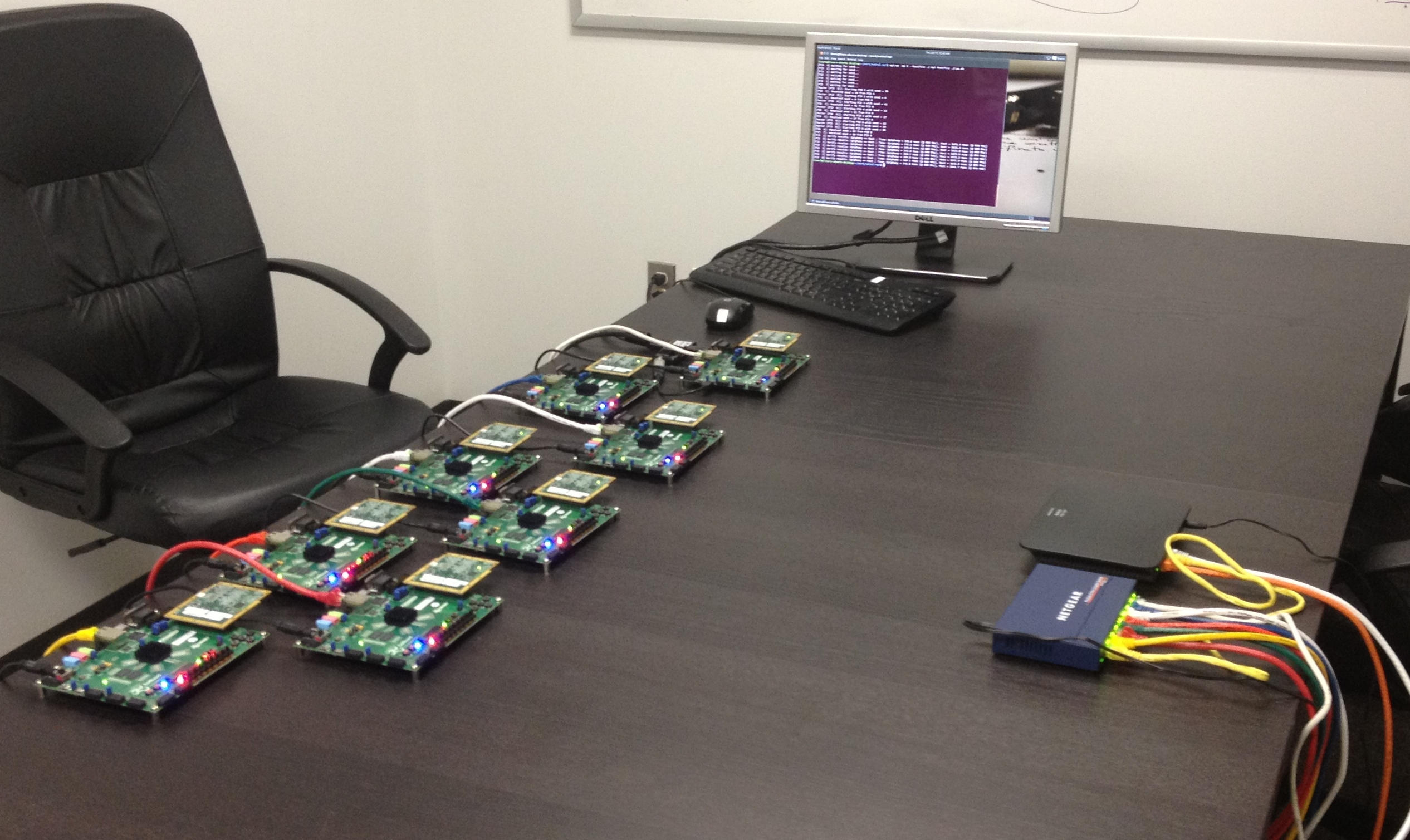 Building the World's First Parallella Beowulf Cluster