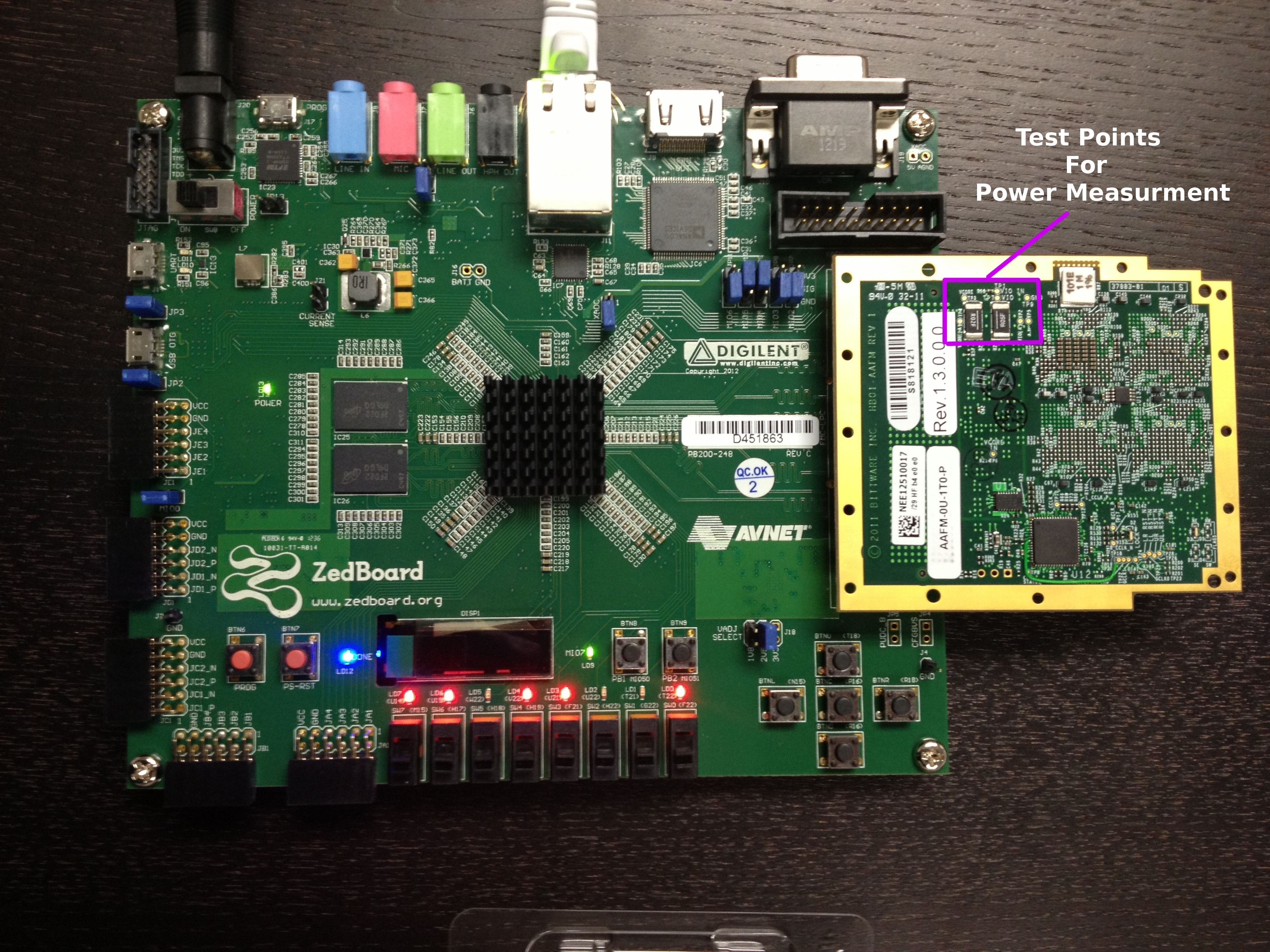 Measuring Power Consumption On The Parallella Prototype Board Ai How To Measure In A Circuit Next